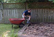 Backyard composting is a good place to start.